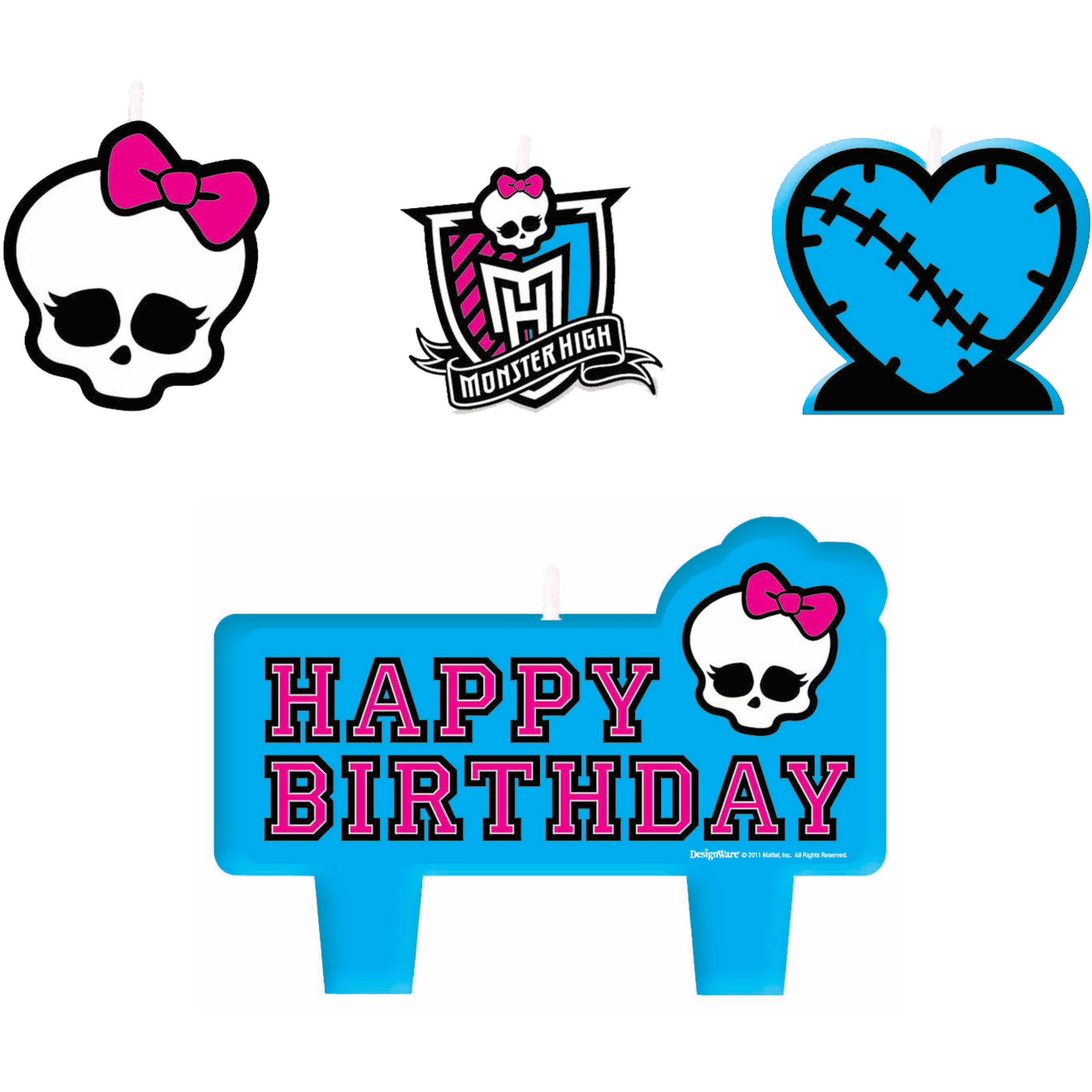 Kids Birthday Party Supplies Monster High Theme